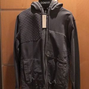 Hooded billabong jacket
